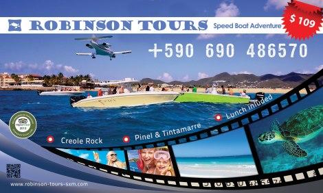 Speed Boat excursion St Maarten